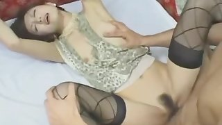 Astonishing porn movie MILF ever seen