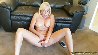 Reading Erotic Stories Naked Makes Her Pussy Wet