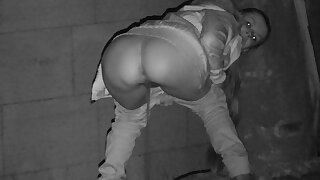 Night Vision Piss For Desperate Babe