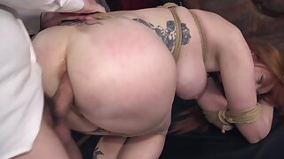Rough fuck is the way man revenges on MILF for seducing his wife