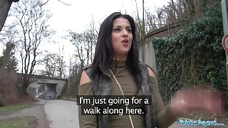 Be the source Agent Outdoor orgasms for Serbian stunner