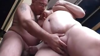 Fleshy THICK 18Yo Schoolgirl Pleasuring  Old Man
